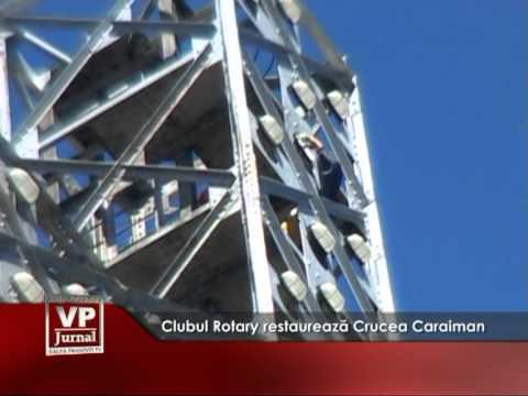 Clubul Rotary restaurează Crucea Caraiman