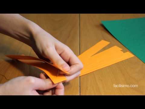 Vídeo: cómo hacer una calabaza de papel para Halloween