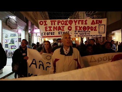 Λέσβος: Πορεία διαμαρτυρίας για το μεταναστευτικό