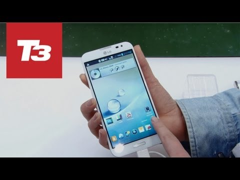 LG Optimus G Pro hands-on preview. First look at the 5-inch phone from LG running Android and sporting LTE