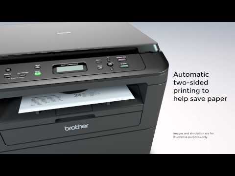 Laser Multi-Function Copier with Wireless Networking and Duplex Printing   Brother™ DCPL2520DW