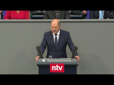 Finanzminister Scholz (SPD) hält an schwarzer Null fe ...