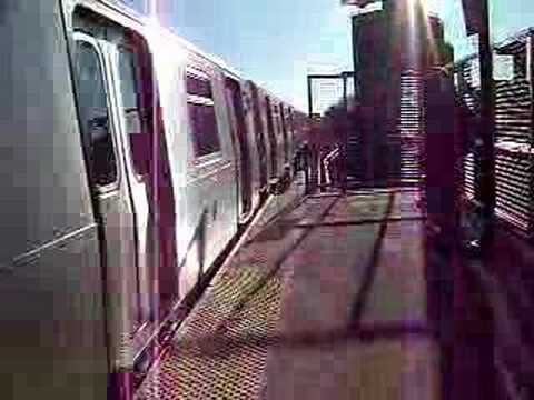MustangFan424 - This is a video I took of a R160A (Z) Train Leaving Chauncey Street.