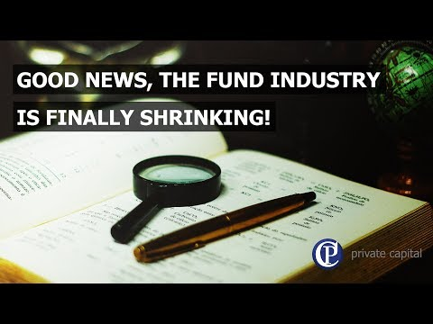 Good news! The fund industry is finally shrinking