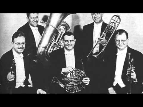 Excerpt - Excerpt from a recording of Symphony Domestica by the Chicago Symphony under Fritz Reiner, circa 1957. Pictured here is part of this marvelous brass section ...