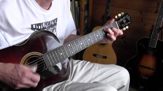 Big Bill Broonzy medley - St Louis Blues/Shuffle Rag on a 1925 Gibson L3