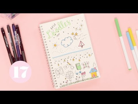 Easy Bullet Journal Doodles | Plan With Me