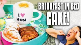 Video How to Make CAKES that look like Croissants, Fruit Bowl and Cappuccino for Mother's Day Surprise! MP3, 3GP, MP4, WEBM, AVI, FLV Maret 2018