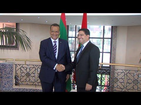 السيدان بوريطة ونظيره الموريتاني يبحثان سبل تعزيز العلاقات بين المغرب وموريتانيا