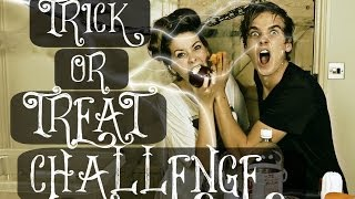 TRICK OR TREAT CHALLENGE WITH ZOELLA | ThatcherJoe