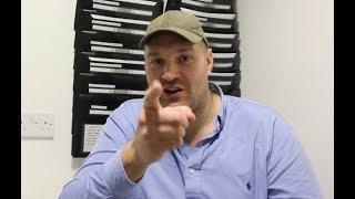 TYSON FURY RAW! -GOES IN ON ANTHONY JOSHUA! -RIPS TONY BELLEW / TALKS MTK, HAYE, RACISM, DRUGS, UKAD