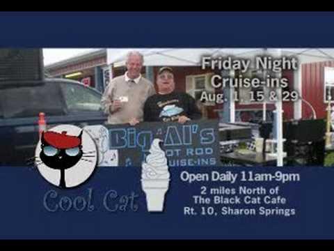 classic car cruise-ins at Cool Cat — TV spot