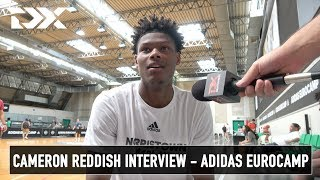 Cameron Reddish Interview - Adidas Eurocamp