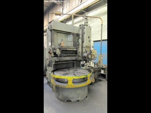 Vertical Turret Lathe STANKOIMPORT 1516 1987