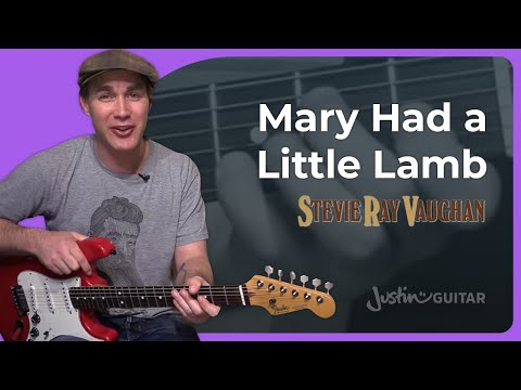 Mary Had A Little Lamb – Stevie Ray Vaughan (Guitar Lesson ST-343) SRV Blues Texas