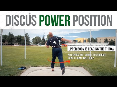 The Power Position - Distance Killers in the Standing Discus Throw