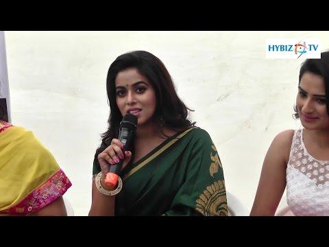 , Poorna actress at SR Fashion Studio Banjara Hills