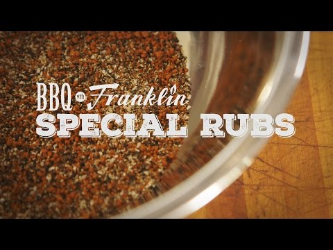 BBQ with Franklin: Special Rubs