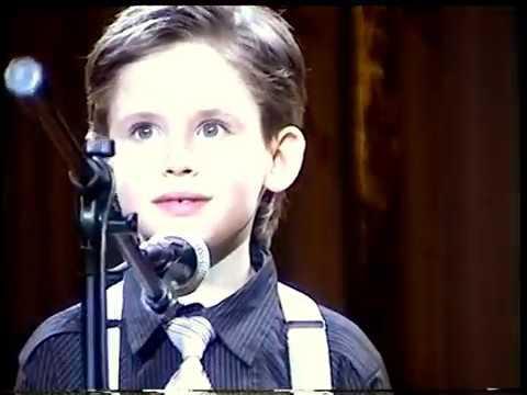 What a Wonderful World - 7-year-old Oleg Aleksandrov