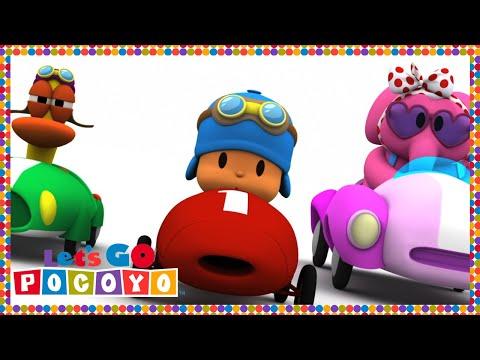 Pocoyo português Brasil - Let's Go Pocoyo! - Preparar, apontar... Já! [Episódio 7] em HD