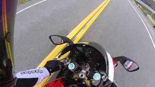 1. Having some fun on an Aprilia RSV 1000 R Factory