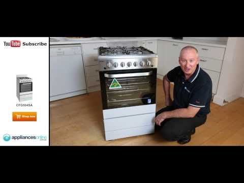 Expert review of the Freestanding Chef Gas Oven/Stove CFG504SA - Appliances Online