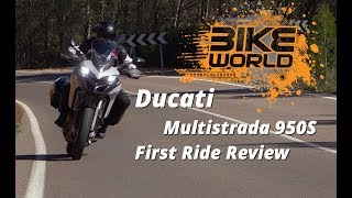 1. 2019 Ducati Multistrada 950S First Ride Review