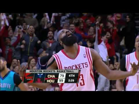 James Harden closes out the Hornets