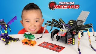Nonton Turning Mecard Mega Spider Auto Transforming Cars Toys Unboxing With Ckn Film Subtitle Indonesia Streaming Movie Download
