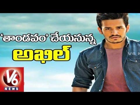 Akkineni Akhil Movie 'Thaandavam' Teaser to reveal on Nagarjuna Birthday