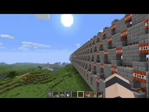Minecraft - Tutorial: Repeater Cannon