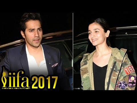 IIFA 2017: Varun Dhawan And Alia Bhatt Depart To N