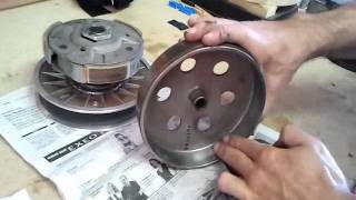 2. www.scootermotor.es Lijar embrague, mantenimiento Kymco 300i