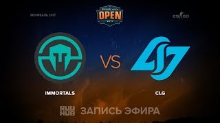Immortals vs CLG, game 1