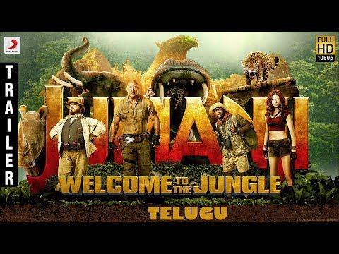 Jumanji - Welcome to the Jungle Telugu Trailer | Dwayne Johnson, Jack Black, Kevin Hart,