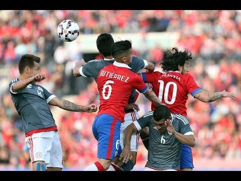 Chile 3 - 2 Paraguay   Amistoso 2015   Alberto Jesús López
