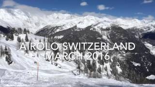 Airolo Switzerland  city photos : AIROLO SWITZERLAND SKI TIME March2016