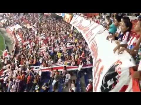 Carnaval Fiesta y Delirio - FRBS La Banda Del Tiburon LBK - Junior 1 vs 0 cali - Frente Rojiblanco Sur - Junior de Barranquilla