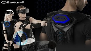 THE WORLD'S FIRST WIRELESS VR GUN AND VEST AT CES 2017   Mindstream Studio