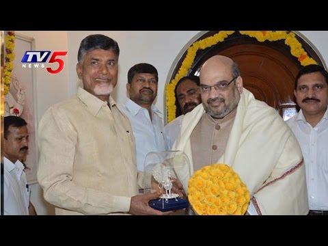 AP CM Chandrababu to Attend Mahanadu in Telangana, To Meet Amit Shah