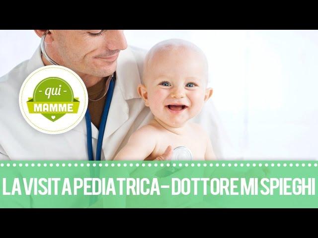 La visita pediatrica ripresa in diretta