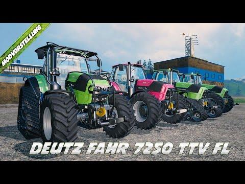 Deutz Fahr 7250 TTV Fl v2.0 QuadTrac Pack