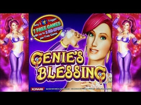 Genie's Blessing Slot Bonus - Shake Them MoneyMakers!  Super Big Win!!