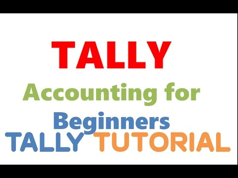 TALLY Accounting for Beginners/Journal Entries in TALLY /Learn Tally Accounting Software in HINDI