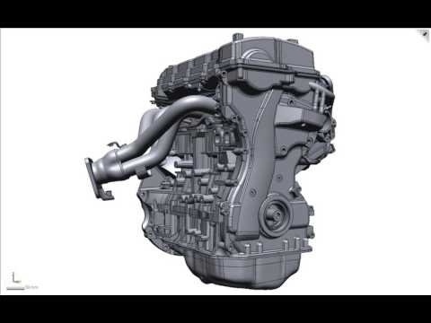 Geomagic Design X 2017 - 3D Modeling of an Engine
