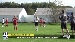 RHS Girls Soccer vs. Twin Lakes