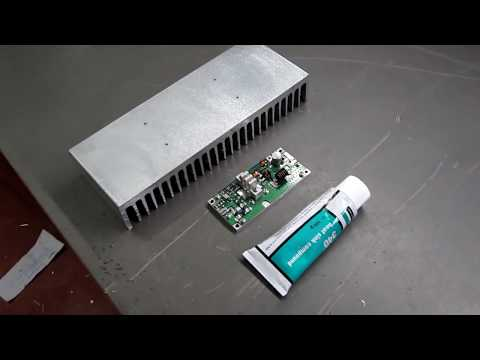 Tugicom - FM300PA 300w pallet RF Amplifier Demo
