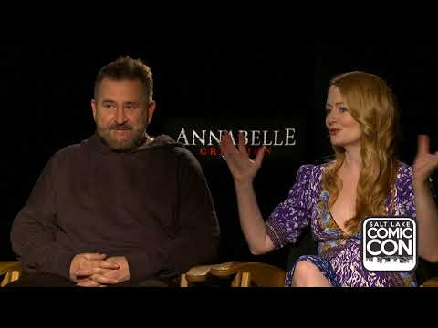 Exclusive interview with Annabelle Creation's Anthony LaPaglia and Miranda Otto