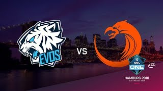 TnC vs EVOS, ESL Closed Quals SA, bo3, game 2 [Adekvat]