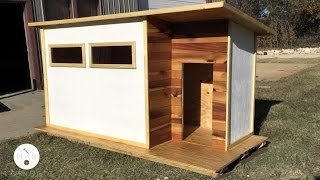 Build a Modern Dog House | Modern Builds | EP. 14